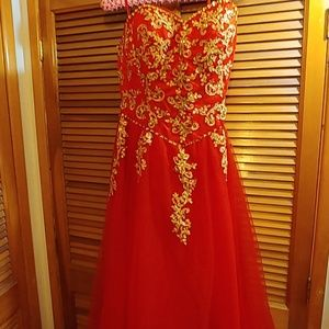 Cocktail or quinceanera  dress
